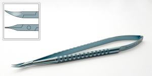 DK Barraquer Needle Holder (curved)